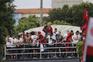 O dueto com Rodinei e os passos de dança. A festa de Jesus no Rio de Janeiro