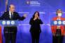O ministro de Estado, da Economia e da Transição Digital, Pedro Siza Vieira, e a ministra da Cultura