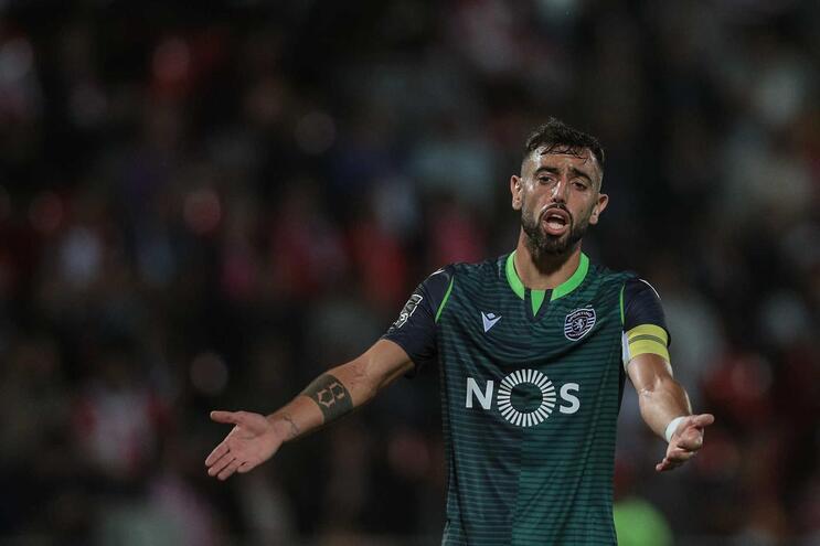"""Bruno Fernandes: """"Alguns dos meus colegas não têm noção do clube que representam"""""""