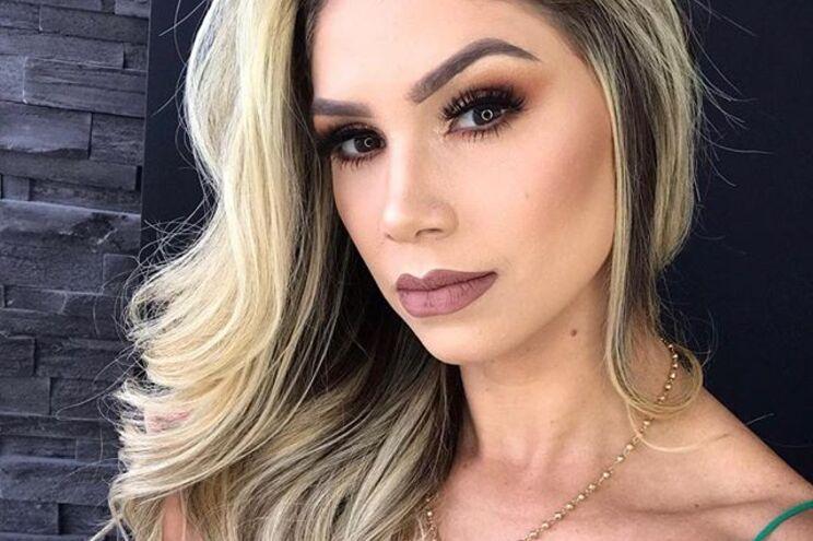 Camila Ângelo, a sobrinha da ex-mulher que agora namora com Hulk