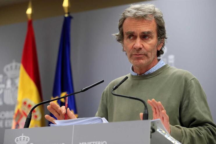 O diretor do Centro de Coordenação de Alertas e de Emergências Sanitárias do Ministério da Saúde de Espanha