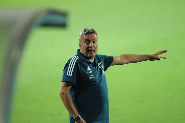 O Flamengo é agora treinado pelo espanhol Domènec Torrent, antigo adjunto de Pep Guardiola