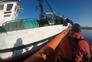 Barco salvo de naufrágio pela Polícia Marítima na Póvoa de Varzim