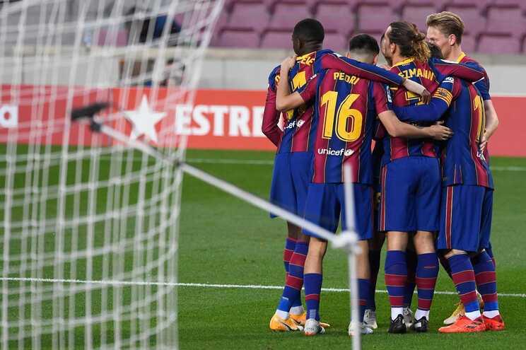 Barcelona em risco de falência