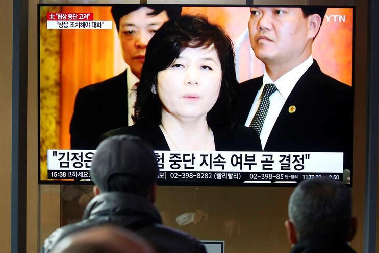 A declaração da vice-ministra dos Negócios Estrangeiros da Coreia do Norte