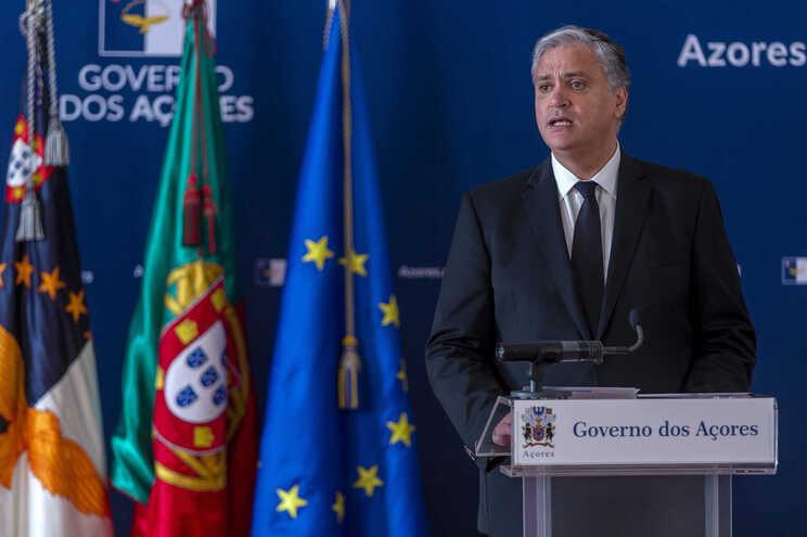 Vasco Cordeiro, presidente do Governo Regional dos Açores