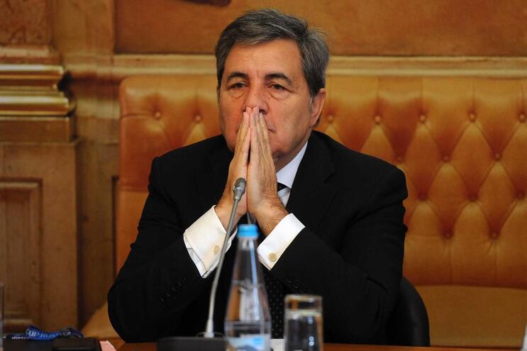 Fernando Gomes é o presidente da Federação Portuguesa de Futebol