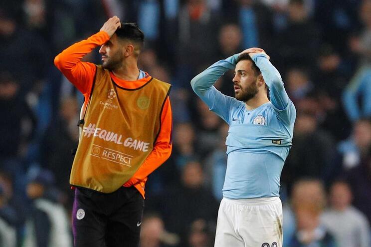 Manchester City eliminado pelo Tottenham em jogo de loucos