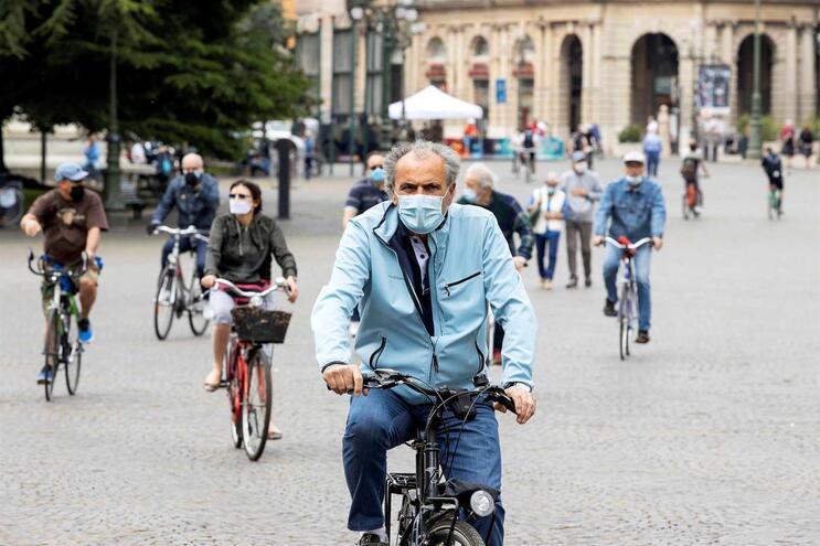 Italianos vão ter ajuda até 500 euros para comprar bicicletas