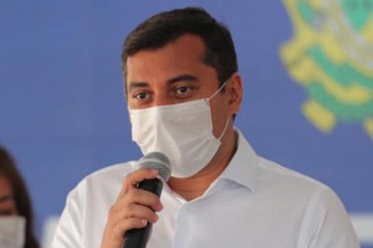 O governador do estado brasileiro do Amazonas, Wilson Lima