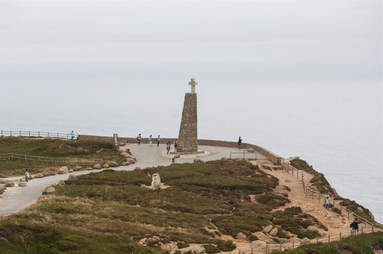 Farol do Cabo da Roca, perto do local do acidente