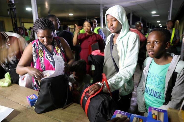 ONU revela que 1500 estrangeiros fugiram da África do Sul
