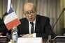 Ministro dos Negócios Estrangeiros francês, Jean-Yves Le Drian
