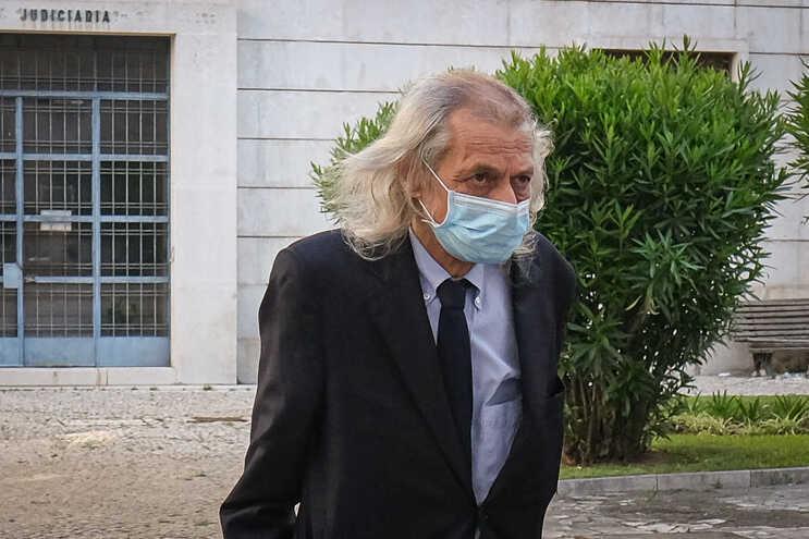 O presidente da EDP Renováveis, João Manso Neto, à chegada ao Tribunal Central de Instrução Criminal
