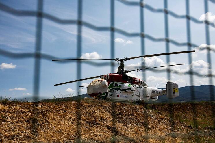 Helicóptero Kamov vai ser posicionado em Vila Real
