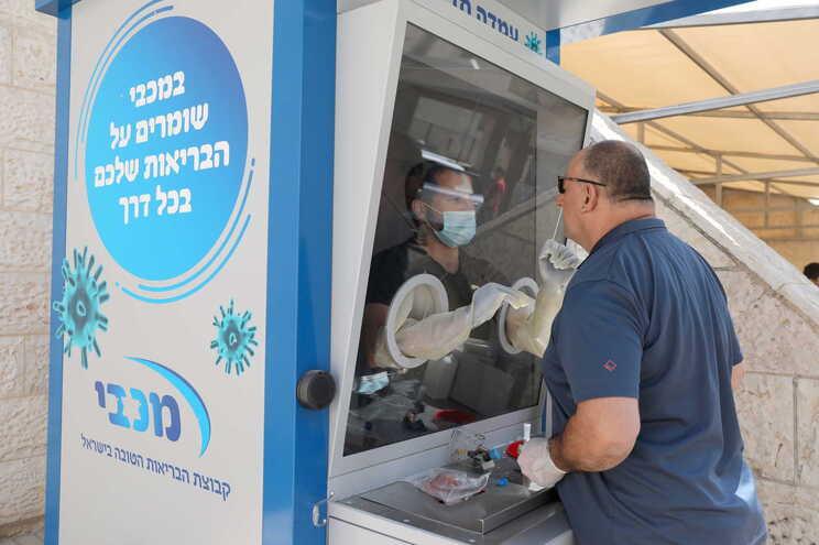 Estação de testes em Israel