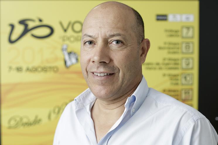 Joaquim Gomes, diretor da Volta a Portugal em bicicleta