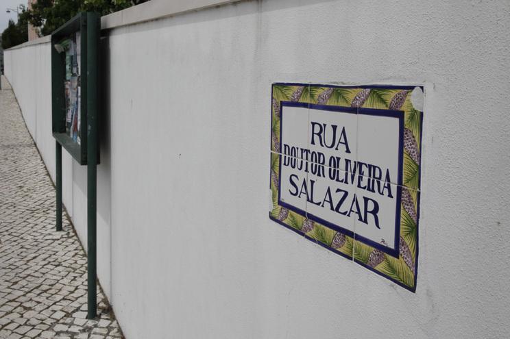 Há 15 ruas que mantêm o nome António de Oliveira Salazar