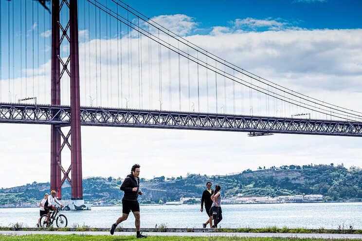 A ponte 25 de Abril é um dos locais em risco