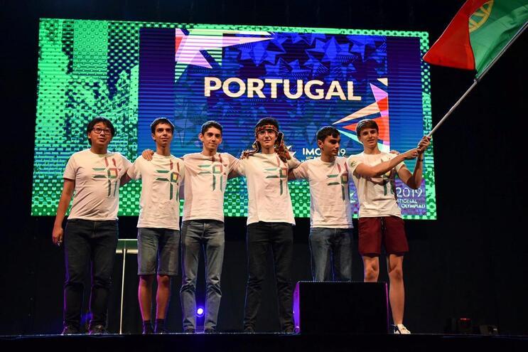 Português foi medalha de prata nas Olimpíadas de Matemática