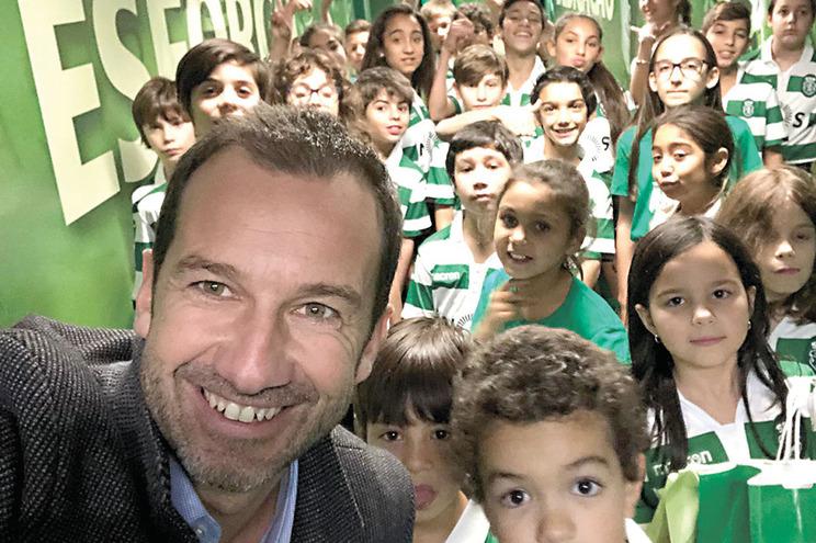 A selfie de.... Frederico Varandas