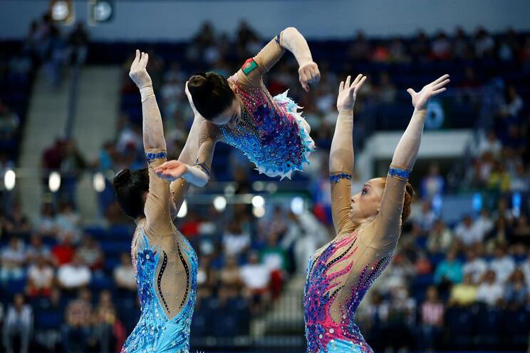 Portugal conquista prata em ginástica acrobática nos Jogos Europeus