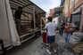 Fogo de grande dimensão atingiu esta segunda-feira centro empresarial em Castelo de Paiva