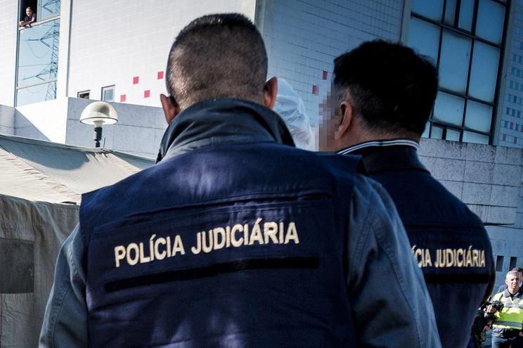 Cadáver foi encontrado na zona histórica da Covilhã   ( Nuno Pinto Fernandes/ Global Imagens )