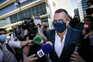 Aníbal Pinto não quis prestar declarações aos jornalistas