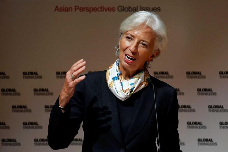 A diretora geral do FMI, Christine Lagarde