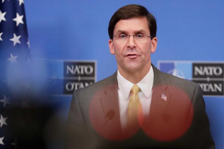 Mark Esper, secretário de Estado da Defesa dos EUA