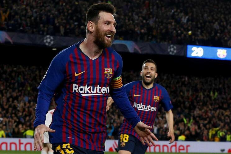 Barcelona vence Liverpool na primeira mão das meias-finais da Champions