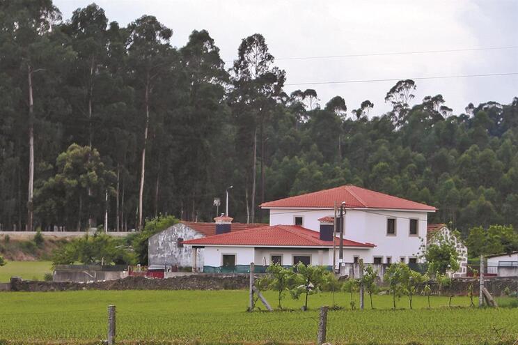 Casa da família está localizada num sítio isolado, longe dos olhares dos vizinhos