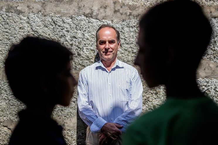 Artur Mesquita Guimarães, o pai de dois alunos de Famalicão que vão reprovar de ano por não frequentarem