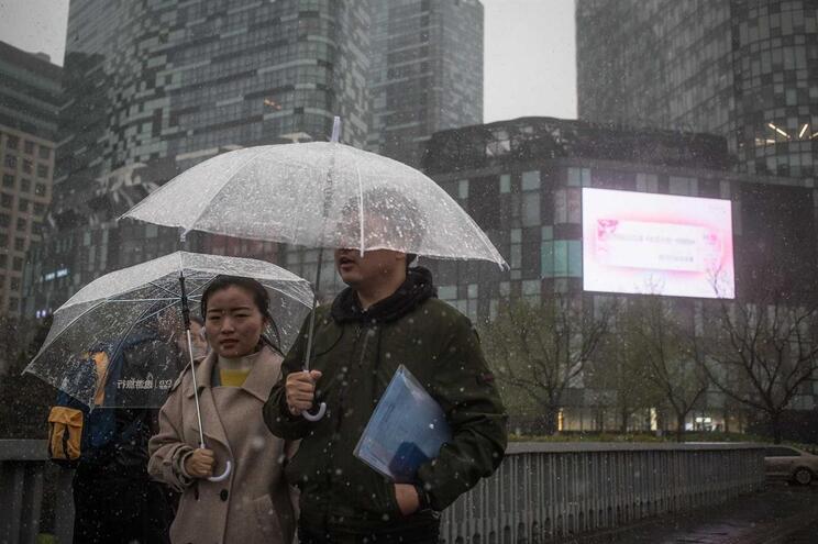 China prepara-se para ter sistema de chuva artificial