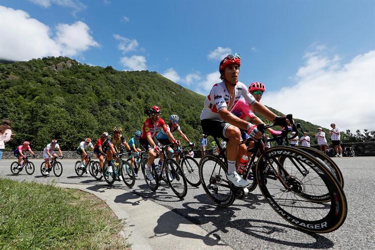 Rui Costa em oitavo na 12.ª etapa do Tour
