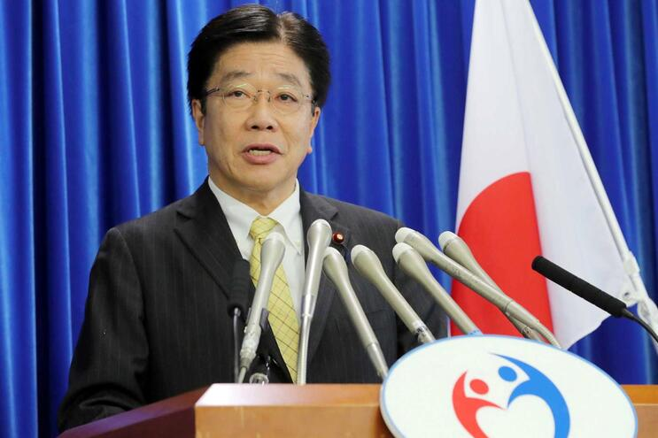 Katsunobu Kato, ministro da Saúde do Japão