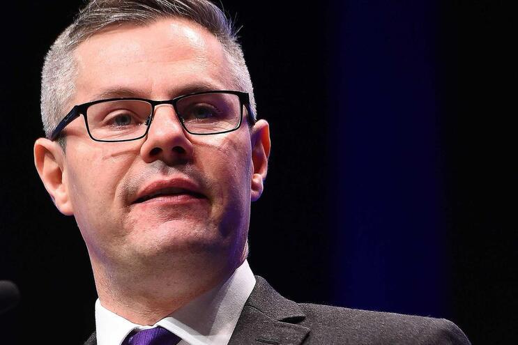 Ministro das Finanças escocês, Derek Mackay