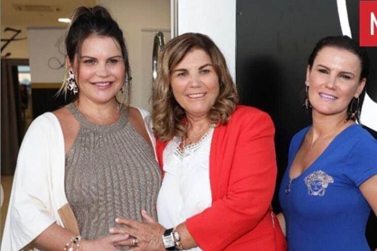 Mulheres do clã Aveiro juntam-se nos últimos dias de gravidez de Katia