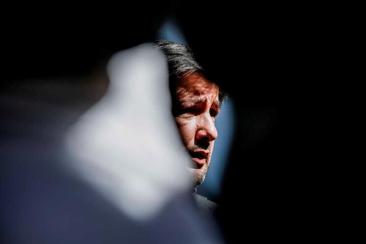 O Ex-Presidente do Sporting Clube de Portugal, Bruno de Carvalho