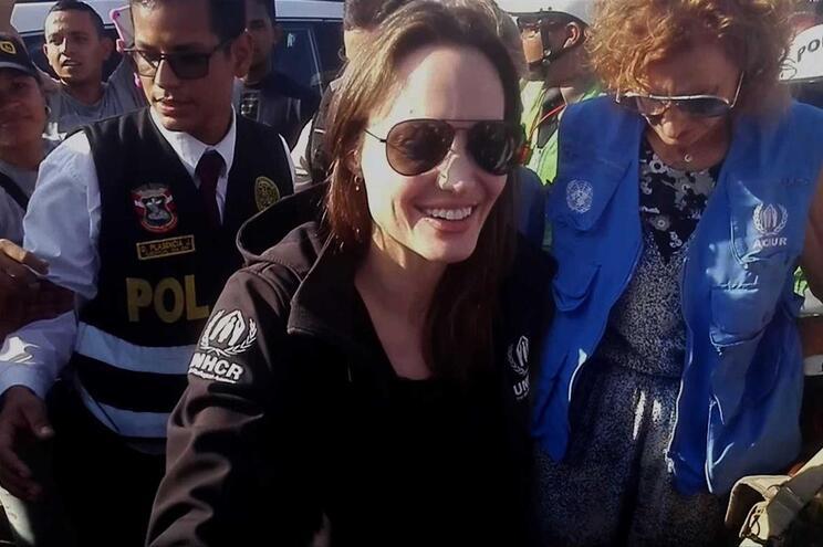 Angelina Jolie, enviada especial da ONU