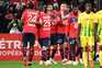 Lille vence Nantes e é líder isolado