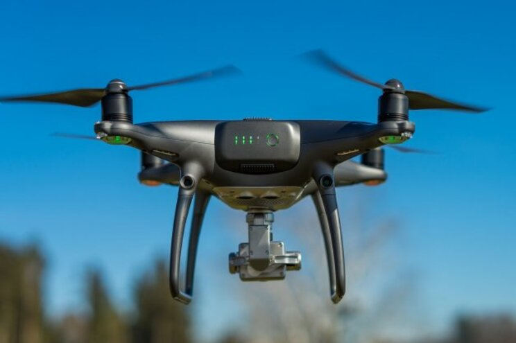GNR utilizou drone com câmara térmica para localizar idoso desaparecido