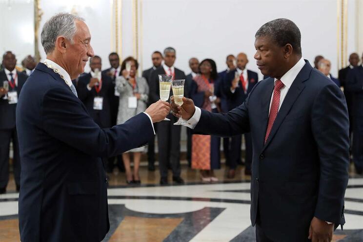 Presidente português está em visita oficial a Angola