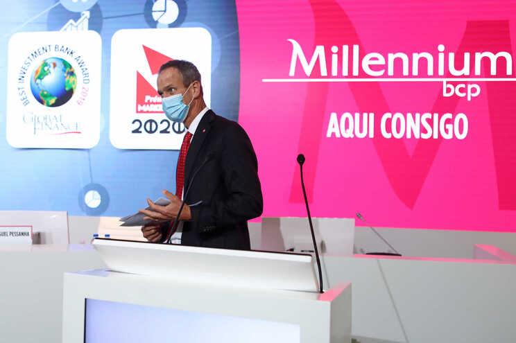 Presidente do Millennium BCP, Miguel Maya