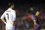 Cristiano Ronaldo, no Real Madrid, e Messi, no Barcelona, foram rivais em Espanha