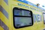 Choque entre carroça e carro provoca dois feridos no Barreiro