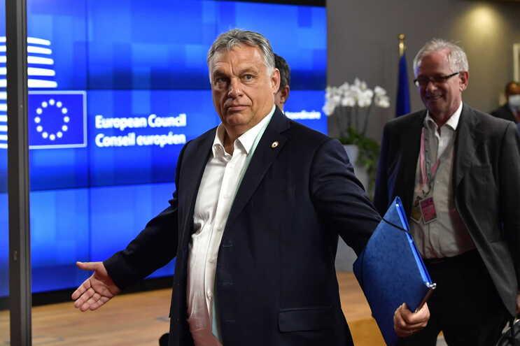 O primeiro-ministro húngaro, Viktor Orbán