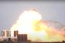Protótipo de novo foguetão da SpaceX explode durante teste