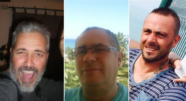 Da esquerda para a direita: António Basto, 51 anos, Eddie Touati, 54, e Arnaud Cazier, 41 ans